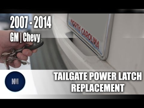 GM Chevy Tailgate Power Latch Replacement