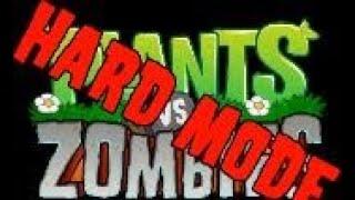 Graze The Roof - Plants vs Zombies HАRD MODE
