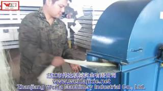 sisal combing machine、fiber brushing machine