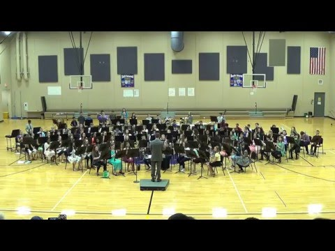 Waukee South Middle School 7th Grade Band Concert, April 12, 2016