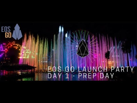 EOS Go Launch Party - Day 1 - Prep Day
