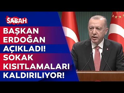 Kabine Toplantısı Bitti! Başkan Recep Tayyip Erdoğan Yeni Normalleşme Kararlarını Tek Tek Açıkladı