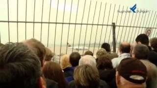 Erstlandung A380 am Flughafen Stuttgart