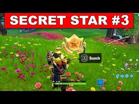 WEEK 3 SECRET BATTLE STAR LOCATION GUIDE SEASON 10 - The Leftovers Challenges Battle Star Season X
