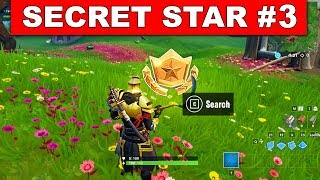 WEEK 3 SECRET BATTLE STAR LOCATION GUIDE SEASON 10 - The Leftovers Challenges Battle Star Season X