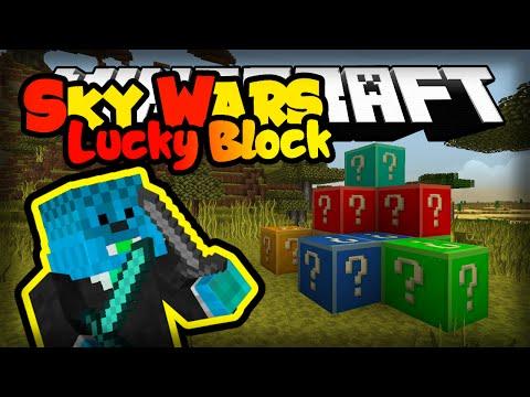 Minecraft: HACKER U LUCKY BLOCKS! | Sky Wars
