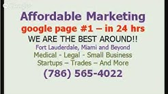 Seo Web Design Cooper City - CALL 786-565-4022