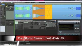 Samplitiude Pro X : Object Editor FX - Full Version 1080p