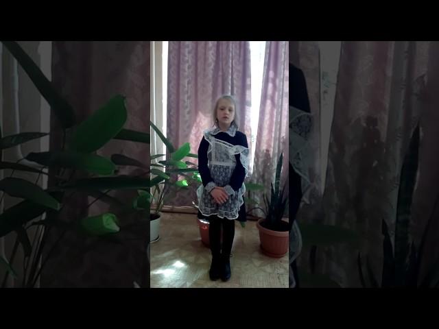 Изображение предпросмотра прочтения – ВиолеттаЛитовченко читает произведение «Весна (Зима не даром злится…)» Ф.И.Тютчева