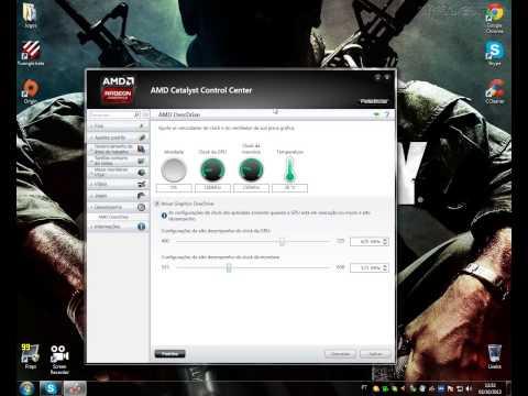 Como Fazer Overclock  nas Placas AMD