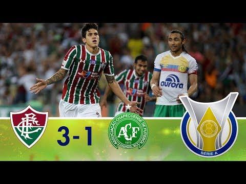 Melhores Momentos - Fluminense 3 x 1 Chapecoense - Campeonato Brasileiro (26/05/2018)
