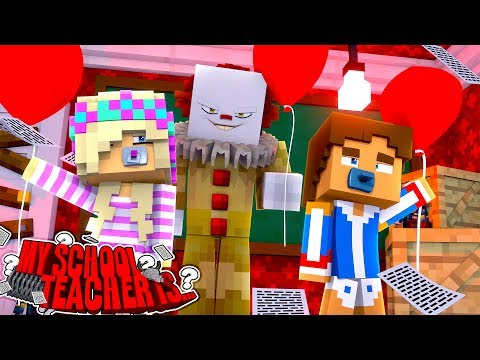 MY SCHOOL TEACHER IS .... IT THE CLOWN!! Little Donny - Minecraft Adventure