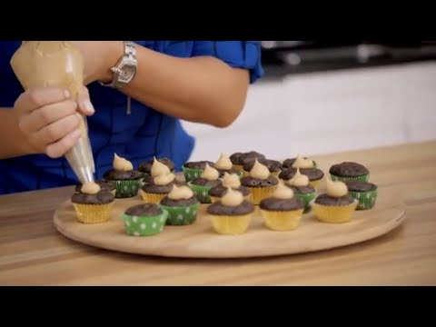 Tasty Treats: How To Make Chocolate Chip Banana Cupcakes With Peanut Butter Frosting