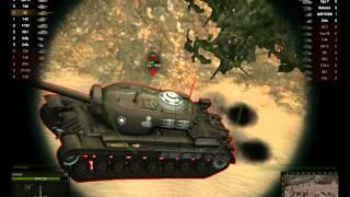 Игра на танке ИС. Аэродром