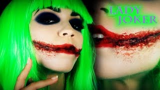 Joker Makeup Tutorial | Female Joker | Lady Joker Dark Knight Version