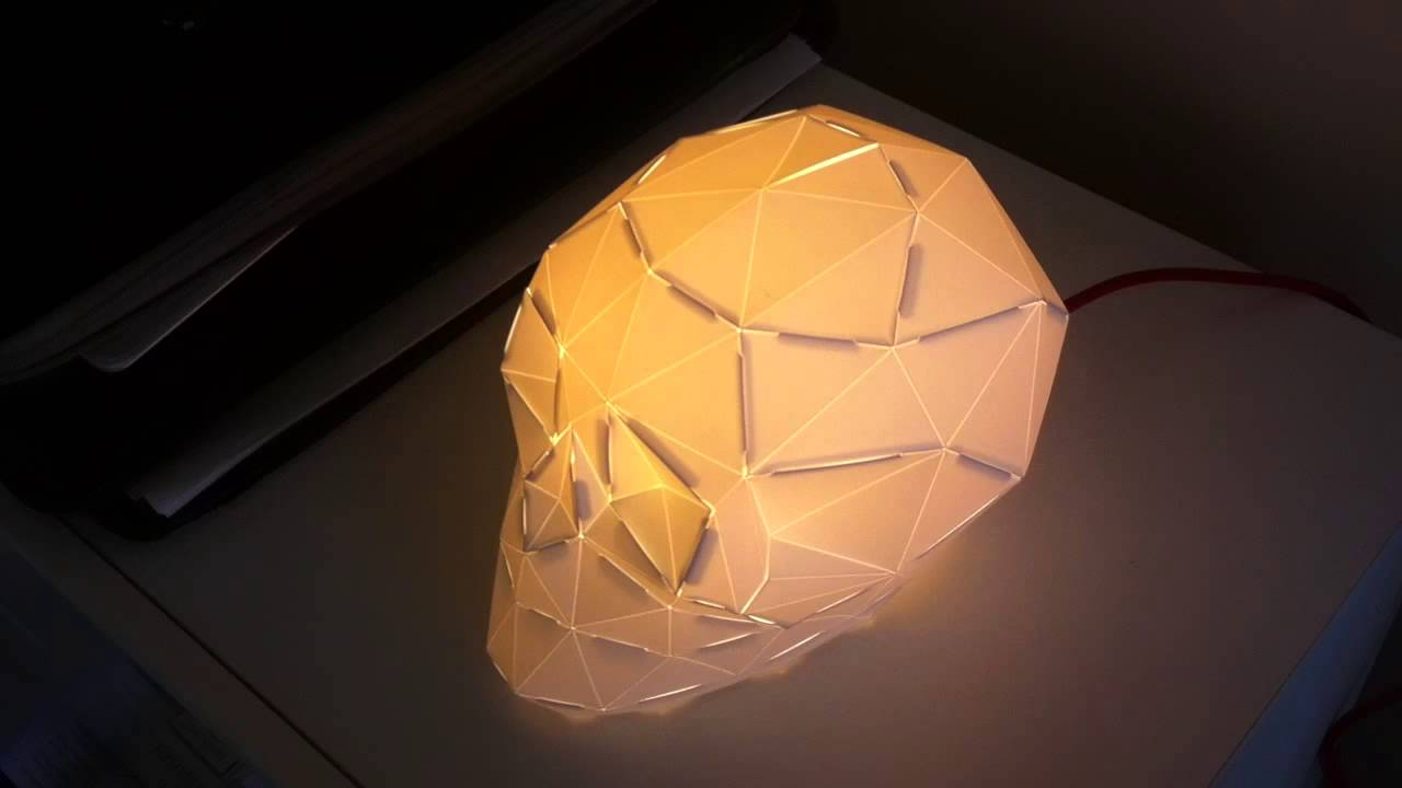 Its not a lamp its a luminuous skull youtube its not a lamp its a luminuous skull aloadofball Gallery