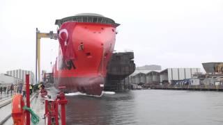 Cemre Shipyard NB119  Launching 27th of  September 2014