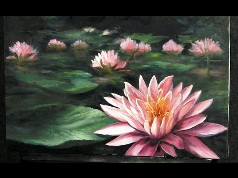 Water Lily Painting | Paint with Kevin Hill