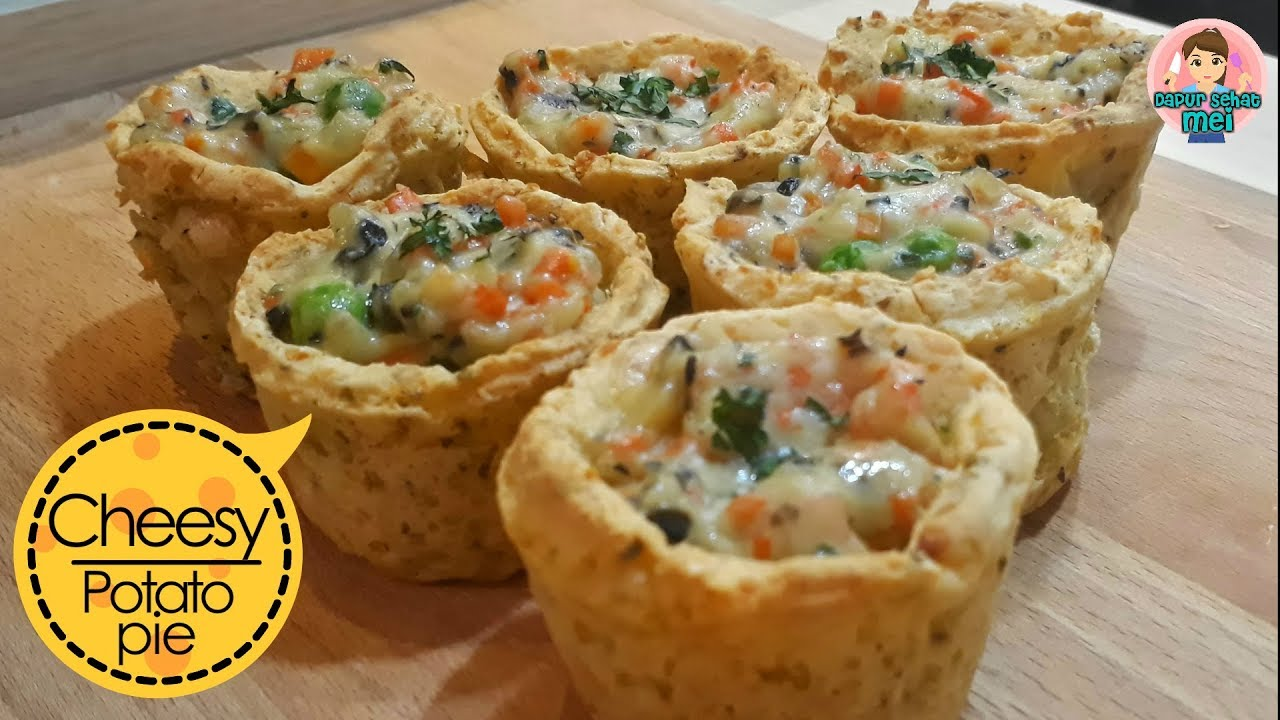 Resep Cheesy Potato Pie Pie Kentang Keju Isi Ragout Ala Dapur Sehat Mei Youtube