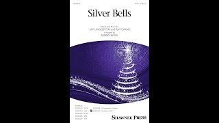 Silver Bells (SATB Choir) - Arranged by Mark Hayes