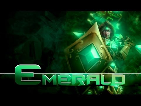 League of Legends: Emerald Taric (HQ Skin Spotlight)