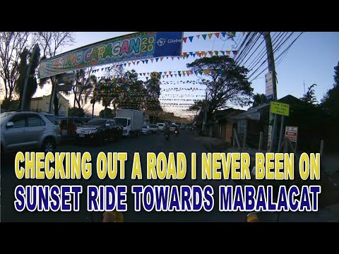 New Route to Mabalacat Pampanga Philippines || Sunset Ride FEB 2020 from YouTube · Duration:  13 minutes 53 seconds