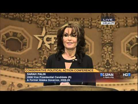 Sarah Palin's Full CPAC Speech