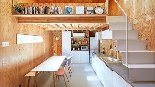 Small House In Tokyo 25sqm/269sqft Milk Carton House