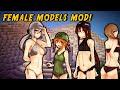 Minecraft Mods - SEXY GIRLS MOD (Cute Female Mobs!)