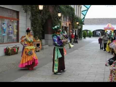 SPAIN VILLAGE STREET DANCE