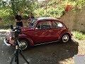 VW BEETLE 1969 ROYAL RED  RESTORATION