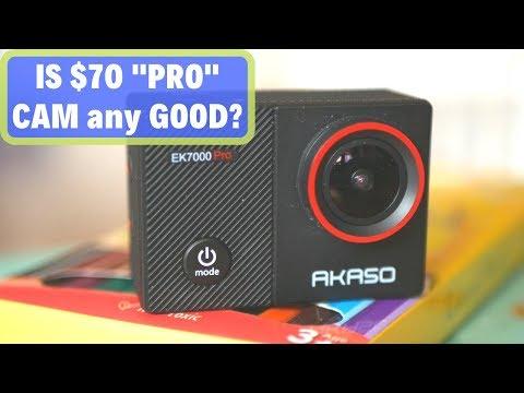 Akaso EK7000 Pro 4K Action Camera is Cheap and ...
