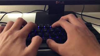 Typing Test on New Keyboard