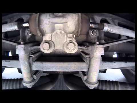 1987 C4 Corvette Rear Suspension - Toe Link Rolling Inspection