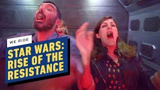 We Rode Star Wars: Rise of the Resistance at Galaxy's Edge