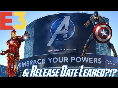 The Avengers Project: E3 2019 BANNER & POSSIBLE MAY 2020 RELEASE DATE!!! EMBRACE YOUR POWERS!!!