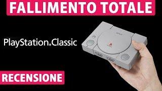 FALLIMENTO (QUASI) TOTALE ► PLAYSTATION CLASSIC [Recensione]