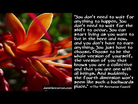 Becoming Your Whole Selves ∞The 9D Arcturian Council, Channeled by Daniel Scranton