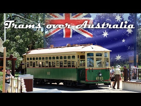 Trams over Australia: Bahn Perth & Trambahnmuseum Whiteman