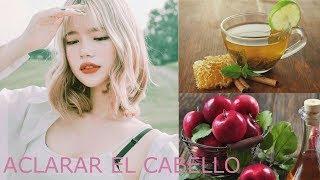 Mascarillas Para Aclarar El Cabello Naturalmente ❣ | K Pink Cute | ❣