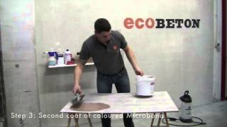 Tutorial - Microbond wood effect