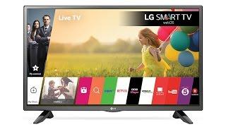 "LG Smart tv 32"" Unboxing + Review en español"