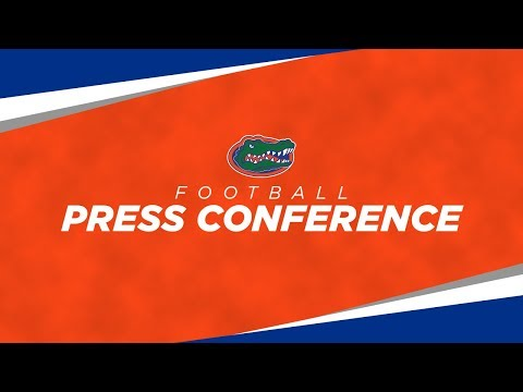 Florida Football: Media Day Press Conferences