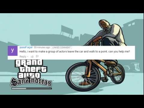GTA San Andreas DYOM- How to perform 2 Animation by one Actor
