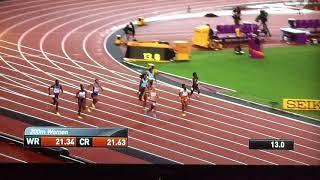 2017 08 11 WK atletiek Londen 2017 - de gouden 200m race van Dafne Schippers