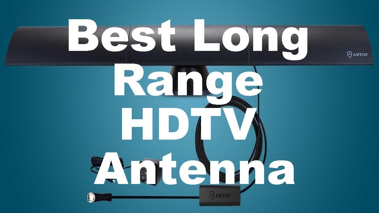 Best Long Range HDTV Antenna (Amplified Indoor TV Antenna)