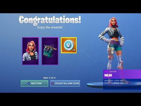 HOW TO GET STARTER PACK 7 IN FORTNITE! [Wilde Skin] *NEW*