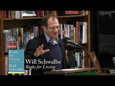 "Will Schwalbe, ""Books for Living"""