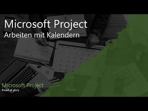 Microsoft Project 2013 - Arbeiten mit Kalendern