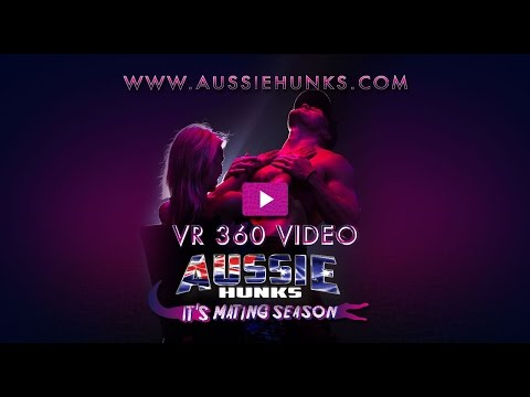Lap Dance in Virtual Reality - TOMMY - Aussie Hunks Vegas